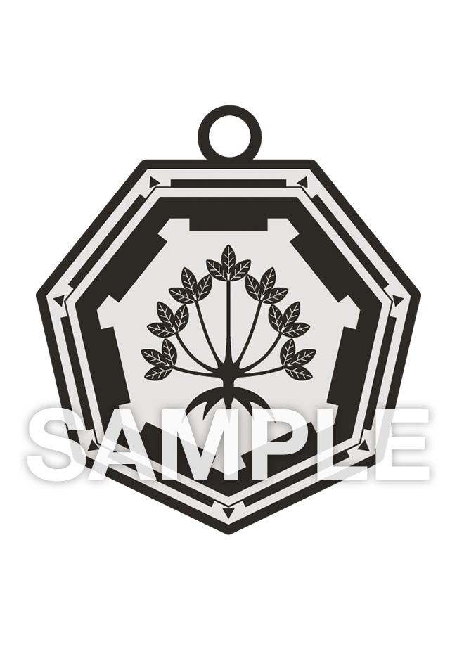 「鷲尾須美の章」ラバーストラップ5種セット 大赦の印